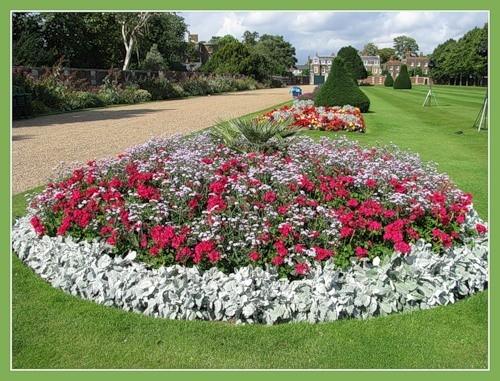 Сад дворца Хэмптон-Кор 93509