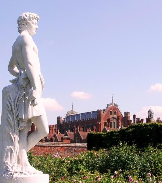 Сад дворца Хэмптон-Кор 30561