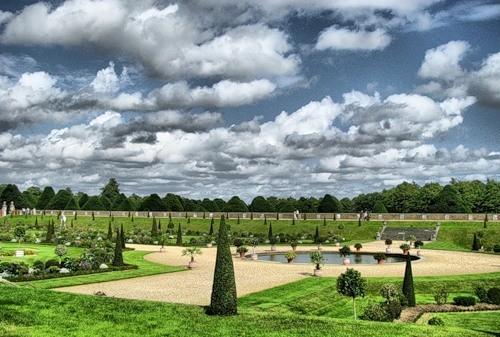 Сад дворца Хэмптон-Кор 76854
