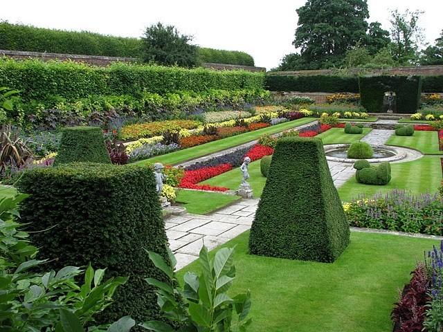 Сад дворца Хэмптон-Кор 11842