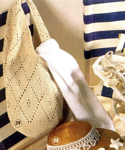 вязание крючком детские сумки и схемы.  Рхема 3 - пончо для девочки...