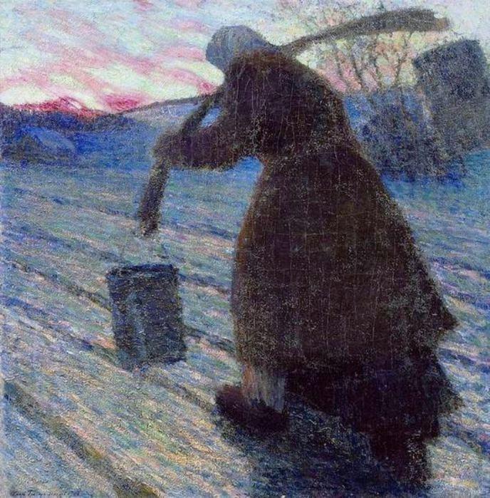Зима в живописи 10 игорь грабарь