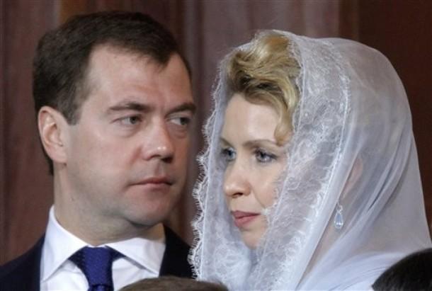 Рождество 2010 президента России Дмитрия Медведева