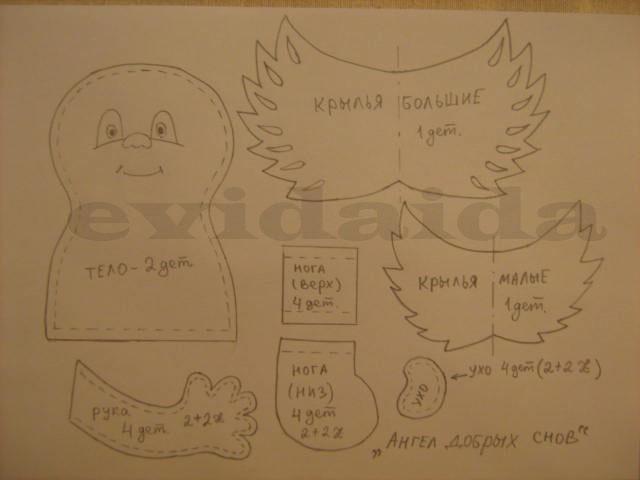 Ангелы - Тильды и другие примитивы. 1873449_photo2b386_copy