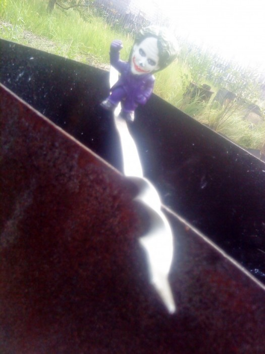 Joker-6 на мангале