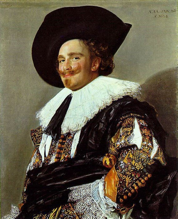 The Laughing Cavalier, 1624