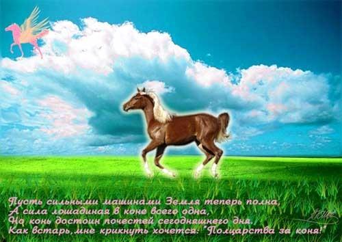 Конь -  сдвигает с места застарелые проблемы; помогает при астме