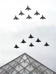 День взятия Бастилии в Париже, Франция, 14 юля 2010 года.