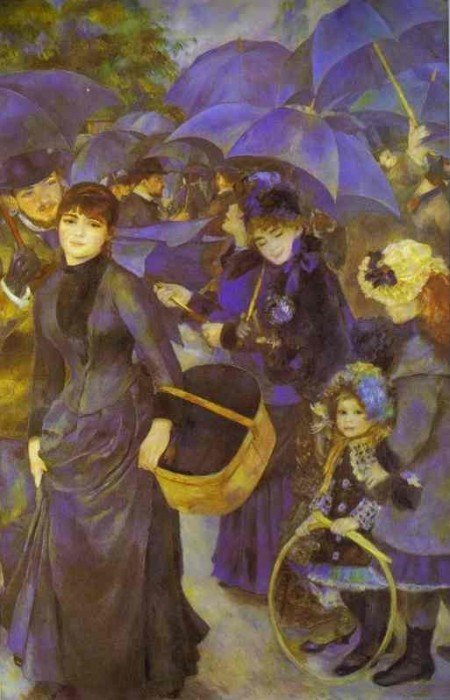 The Umbrellas 1883 by Pierre-Auguste Renoir
