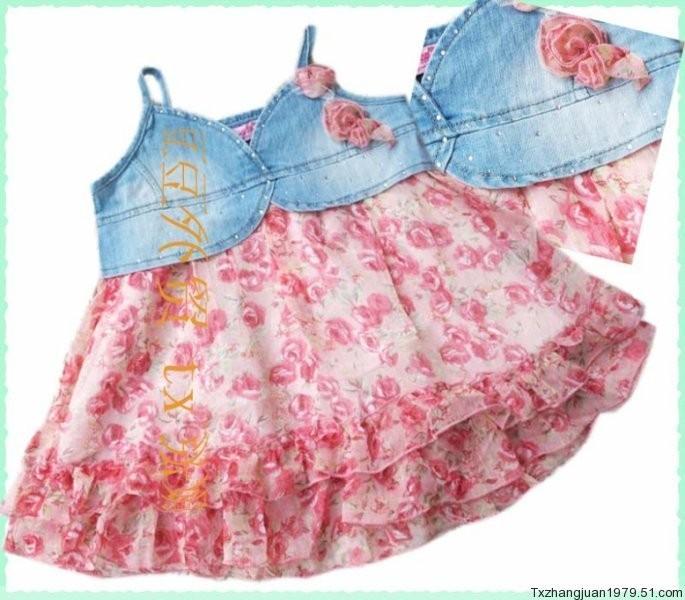 Идеи детских платьев своими руками 92
