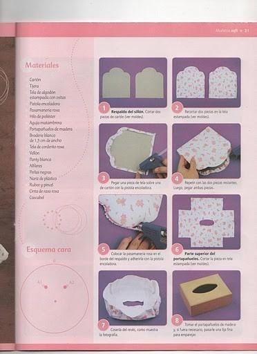 Как сделать из бумаги штото для куклы
