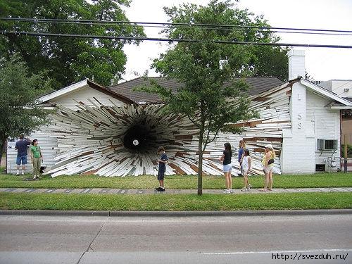 туннель в доме