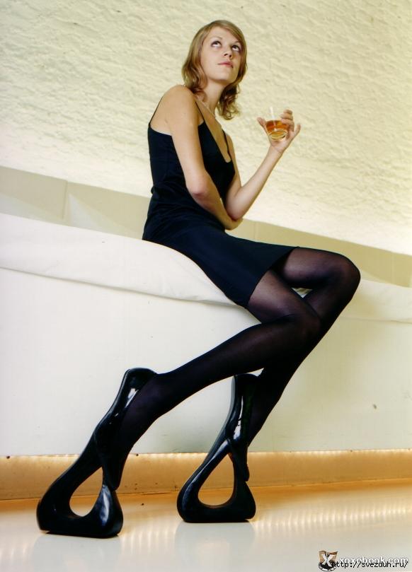 необычная женская обувь