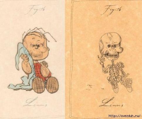 рисунки героев мультфильмов