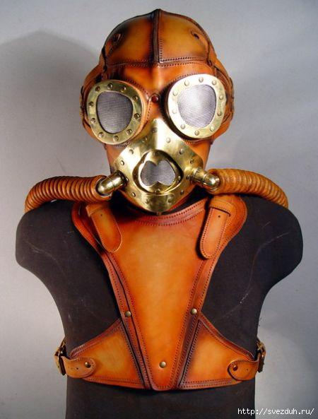 стимпанк маски