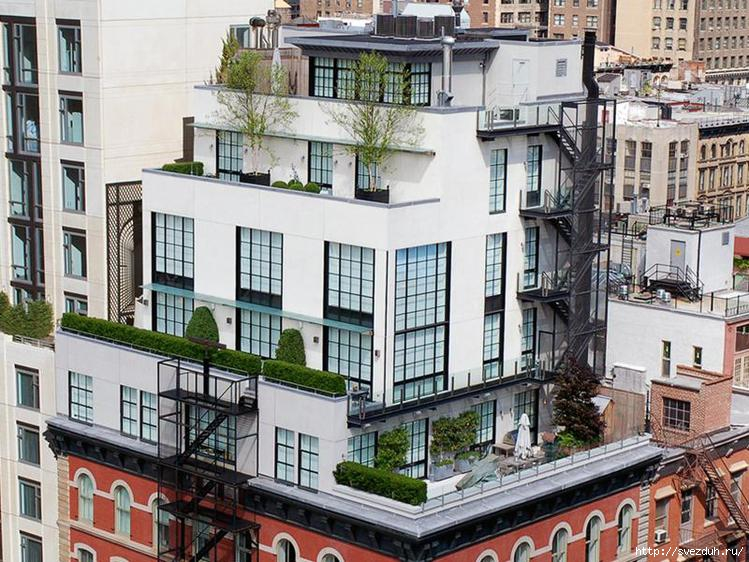 пентхаус в нью йорке фото