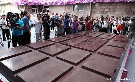 самая большая шоколадка