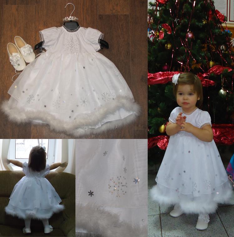 Новогодний костюм снежинки своими руками фото быстро