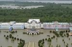 [+] Увеличить - Наводнение на Миссисипи приближается к дельте реки.