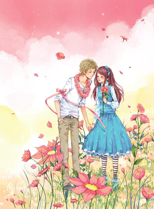 Милые аниме - a23