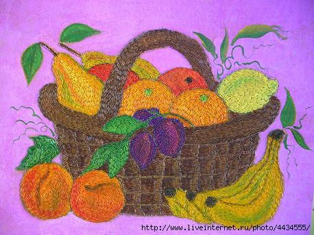 Поделки из крупы для детей шаблоны фрукты и овощи