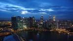 [+] Увеличить - Ночной Сингапур