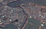 Посмотреть все фотографии серии Снимки со спутника. Япония до и после цунами