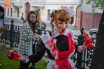 [+] Увеличить - зомби-парад в москве 3