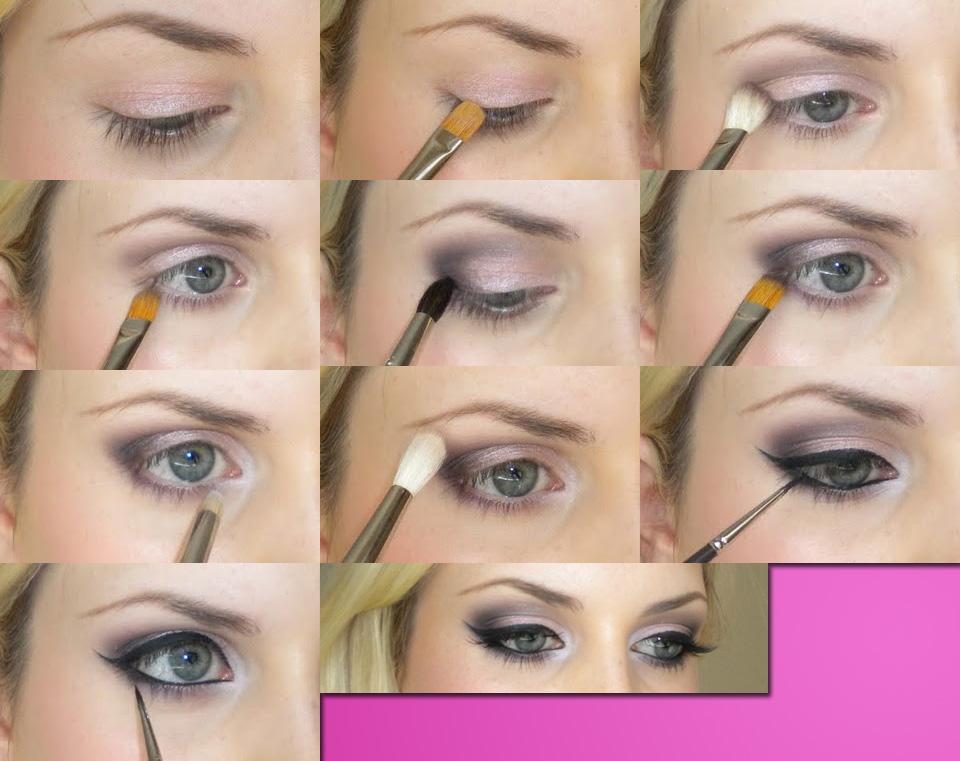 Дневной макияж для глаз пошаговое