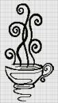 И такую вот чашечку кофе (или чая?  У меня в этом году в планах украшательство кухни.  Ну, начну с себя.
