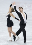 GANGNEUNG, SOUTH KOREA - MARCH 02:  Catherine Clement and James Hunt of Great Britain compete in the Pair Short on day three of the 2011 World Junior Figure Skating Championships at Gangneung International Ice Rink on March 2, 2011 in Gangneung, South Kor