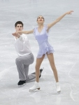 GANGNEUNG, SOUTH KOREA - MARCH 02:  Brittany Jones and Kurtis Gaskell of Canada compete in the Pair Short on day three of the 2011 World Junior Figure Skating Championships at Gangneung International Ice Rink on March 2, 2011 in Gangneung, South Korea.  (
