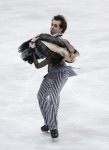 GANGNEUNG, SOUTH KOREA - MARCH 04:  Charlotte Lichtman and Dean Copely of United States compete in the Ice Dance Free on day five of the 2011 World Junior Figure Skating Championships at Gangneung International Ice Rink on March 4, 2011 in Gangneung, Sout