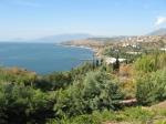 Крым. Вид на море.