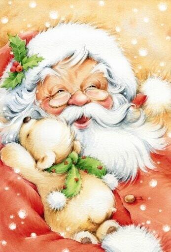 Поздравления СмС и картинки про Новый год и Деда Мороза.