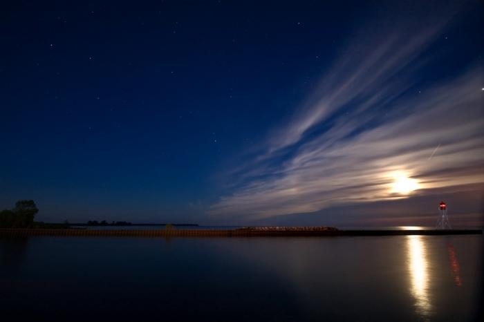 Красивое ночное небо