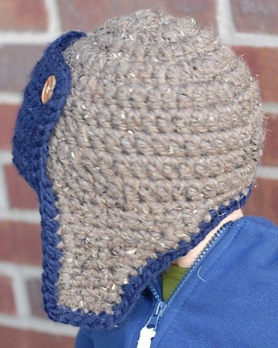 схема вязания детский шапок зверюшек.