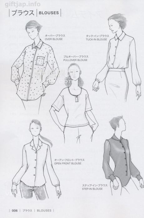 crafts for summer: sewing blouses and shirts for women