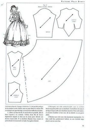 Как сшить платье для куклы бесплатно