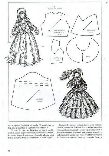 Как сшить платье для куклы своими руками бальное