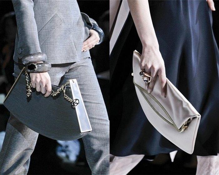 Обувь сумки Giorgio Armani осень-зима 2011/2012.
