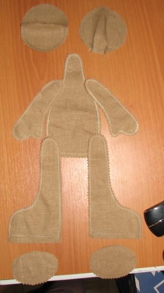 выкройка куклы татьяны коннэ.