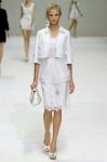 Белая коллекция весна-лето 2011 от Dolce&Gabbana.