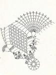 Oct 21, 2010 - Прямоугольная скатерть.  Нарядная прямоугольная скатерть с узором из ажурных ромбов и с бахромой...