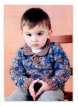 схема вязания шапки для мальчика спицами.