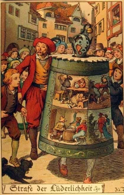 В средние века провинившегося человека водили по городу с колокольчиком. И все перед ним расступались – смотрите, смотрите, идет вор