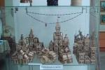 Работы из деревянных спичек Пидкалюк Антона 12лет