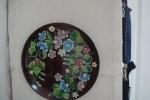 Декоративное панно. Роспись тарелок