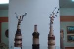 Декоративные бутылки,смешаная техника Аюпова Лариса