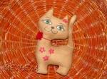 Цветочная кошка